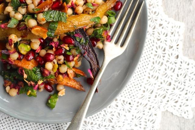 cous-cous-salad-fork