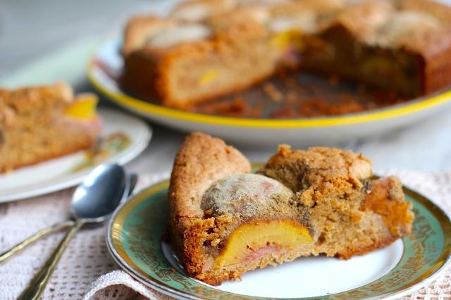 peach-cardamom-cake