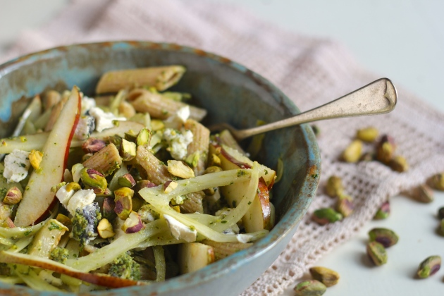 Autumn Pasta Salad with Fennel & Goats Cheese