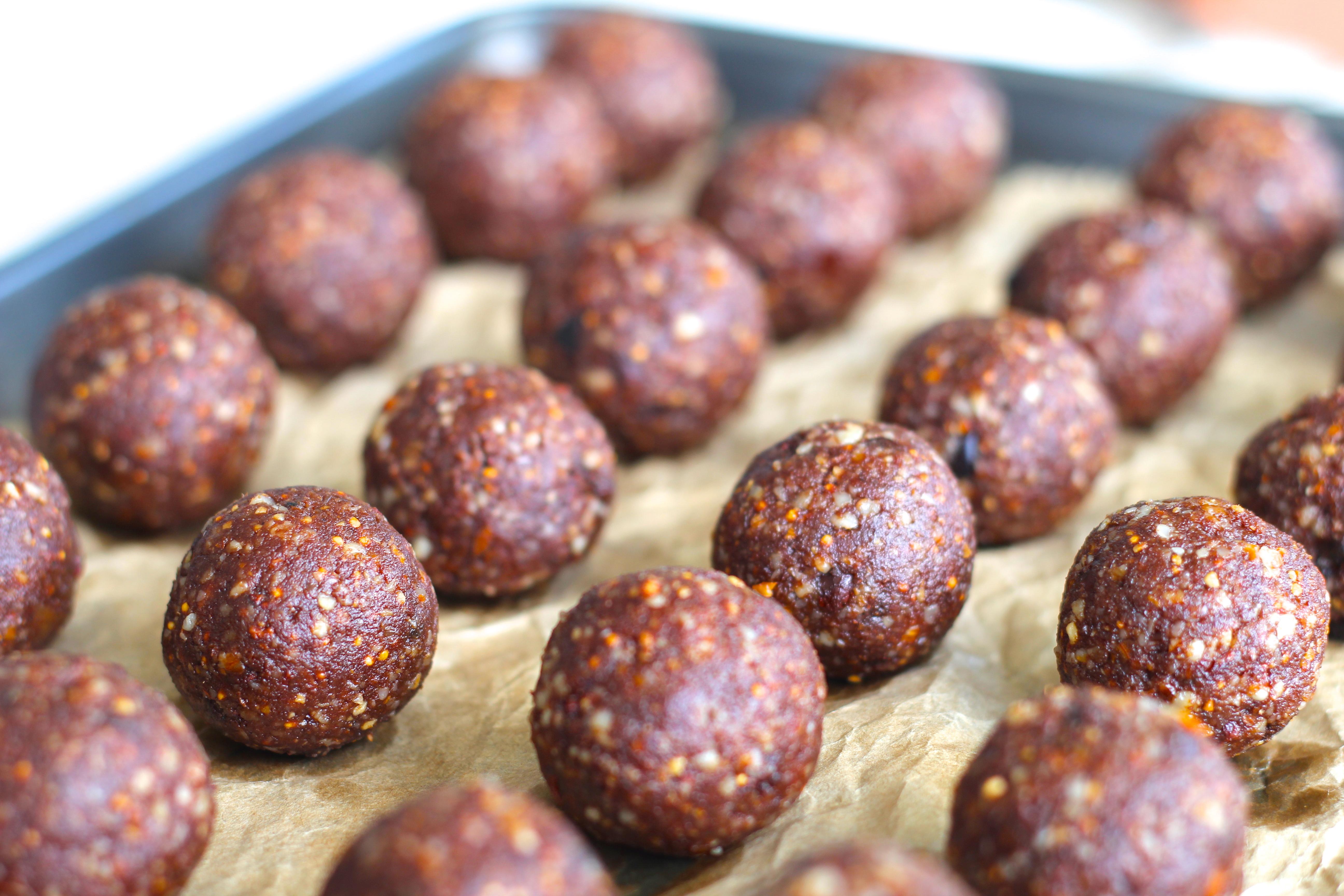 Raw Cacao, Orange  Fig Energy Ballshighgate hill kitchen