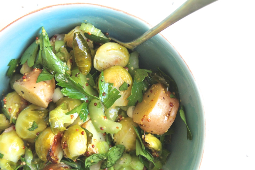 Potato-Bruseels-Sprouts-Salad