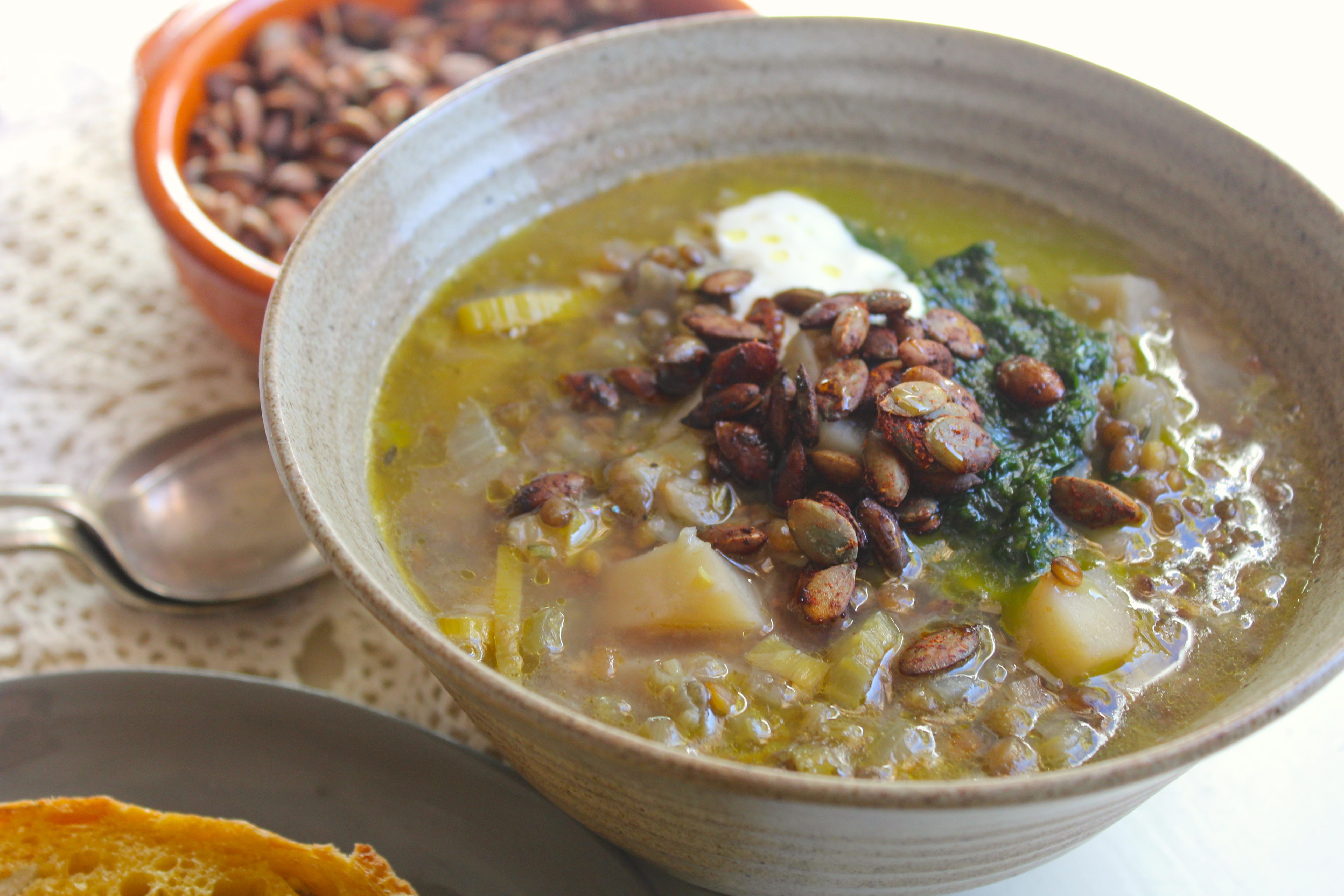 Lemon & Lentil Soup