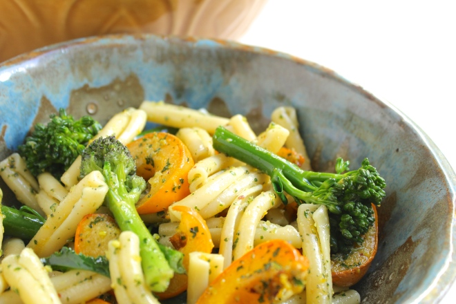 pumpkin-broccolini-pasta