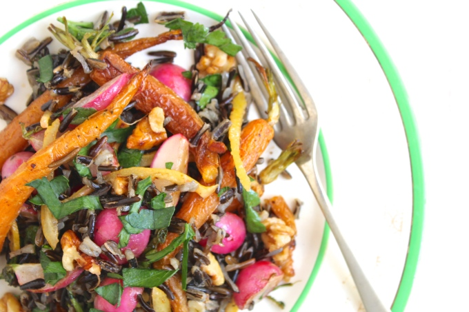 roasted-carrot-radish-preserved-lemon-wild-rice-salad-closeup