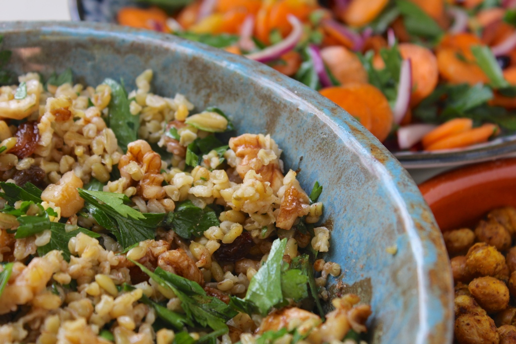 chickpeas-carrot-salad-freekeh
