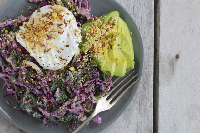 purple-cabbage-zucchini-dill-slaw-plate