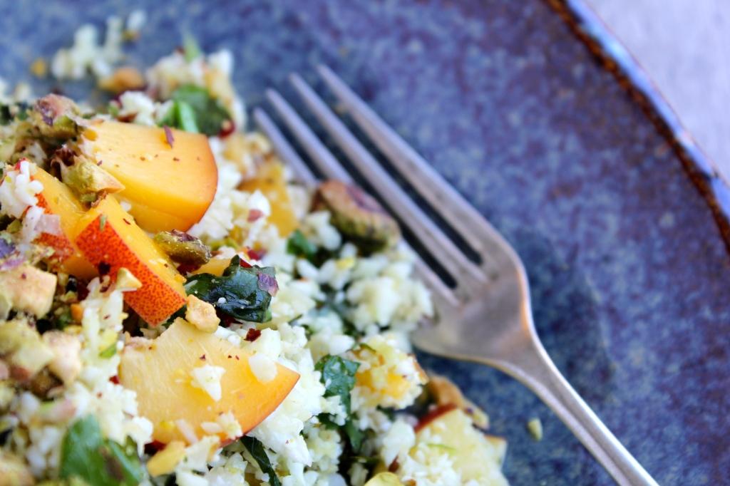 nectarine-pistachio-cauliflower-couscous-fork