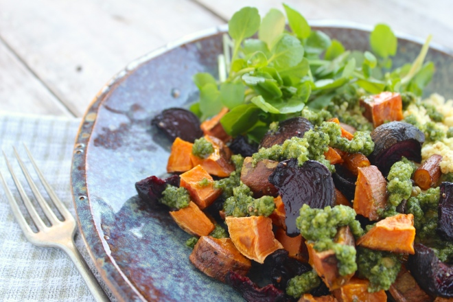 roast-veges-millet-thyme-lime-pesto