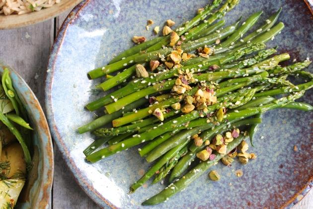 Two Salads: Green Beans & Asparagus + Potato & Dill | highgate hill ...