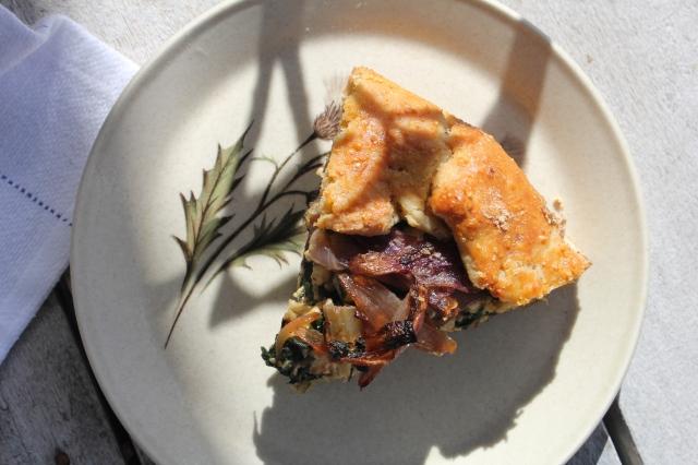 silverbeet-haloumi-galette-slice