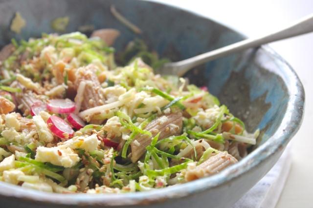 sprouts-radish-apple-pasta-salad
