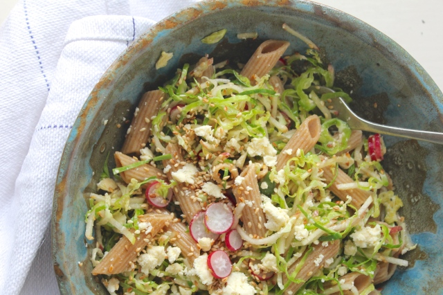 sprouts-radish-apple-salad-fork