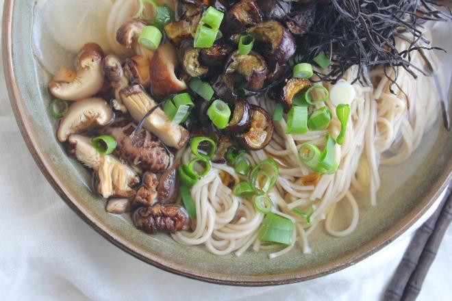 green-tea-soup-baked-eggplant
