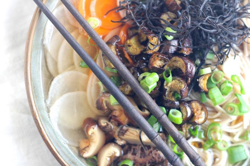 green-tea-soup-chopsticks