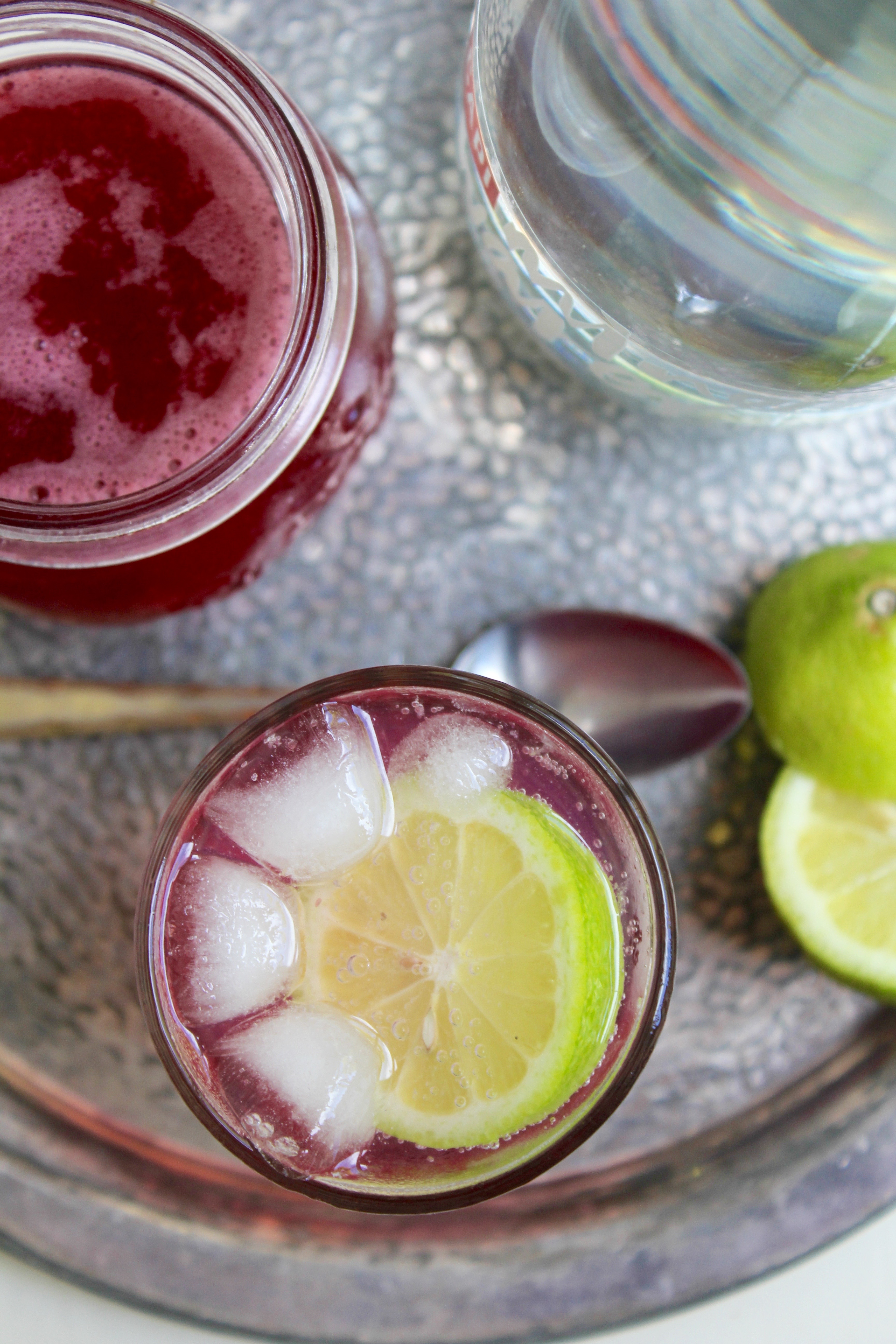 Rhubarb Rosewater Syrup Recipe — Dishmaps