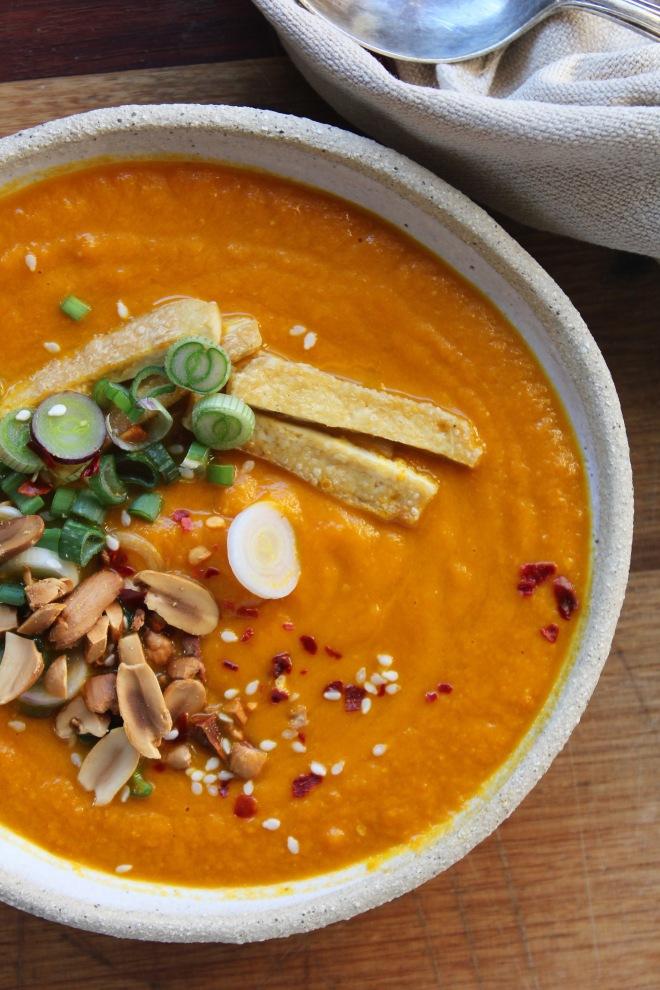Carrot, Ginger & Miso Soup