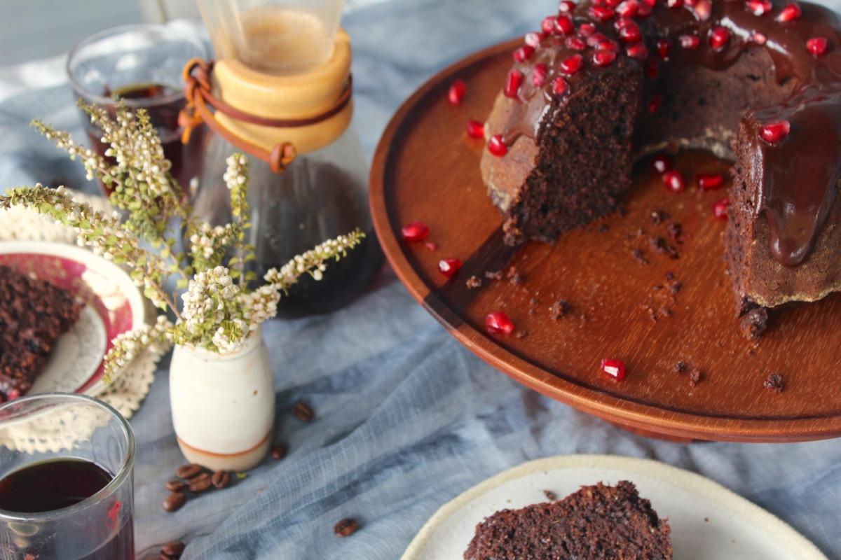 Rye Chocolate Cake