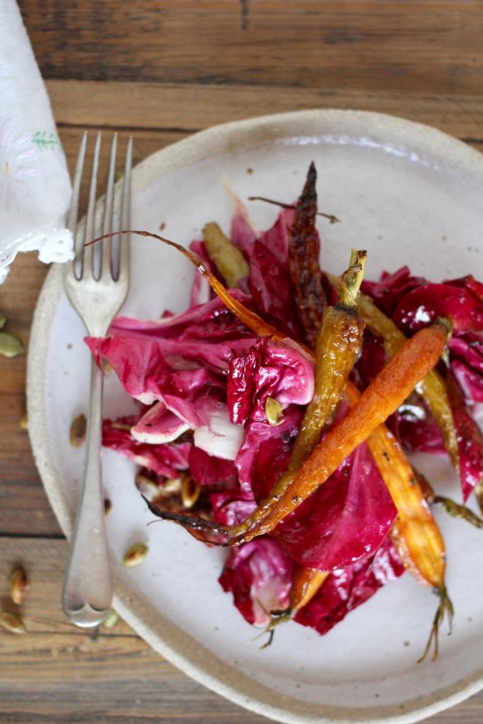 radicchio-roasted-carrot-salad-six