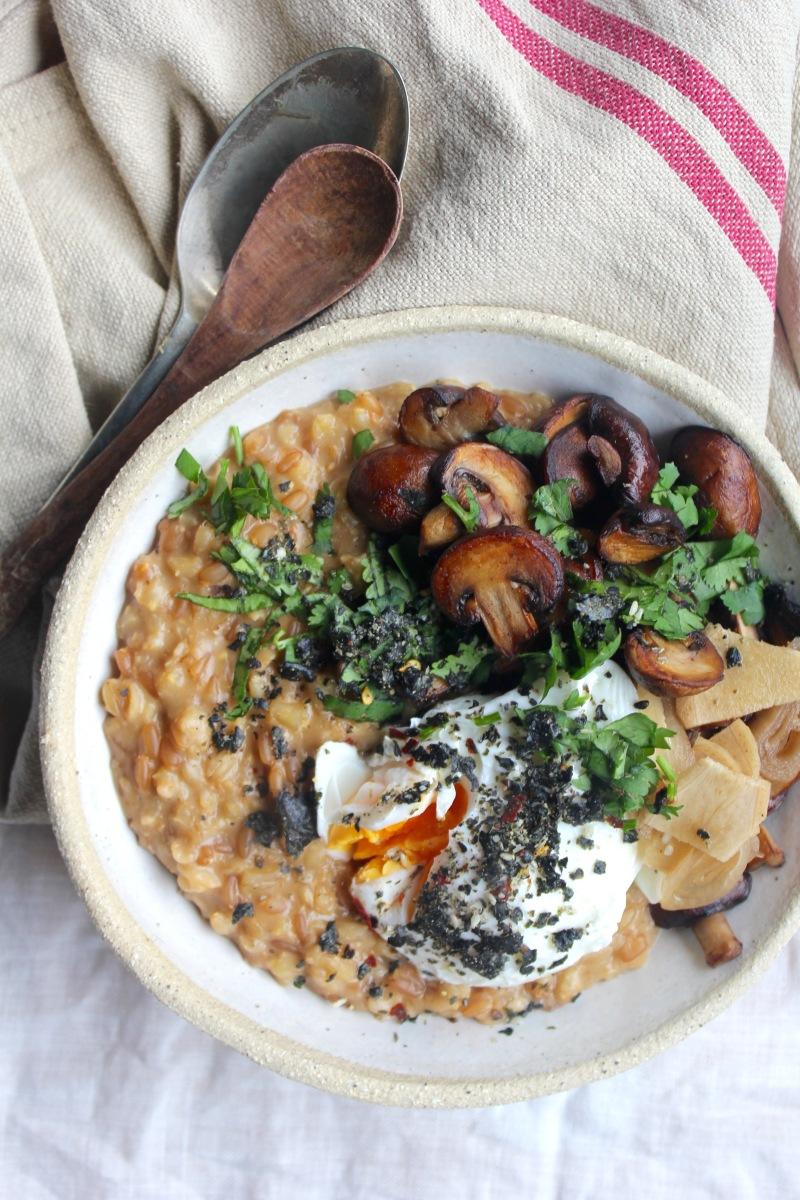 Savoury Miso Porridge